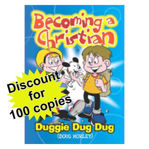 Becoming a Christian A6 Booklet - 100 copies discounted