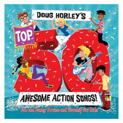 Duggie Dug Dug's Top 50 Awesome Action Songs CD
