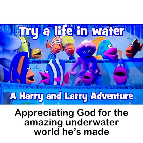 Try a life in water downloadable video
