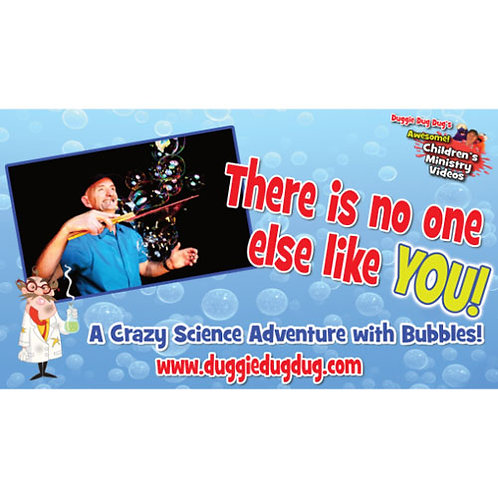 There is no one like you! Crazy Science Series Bubble Show linked to Psalm 139