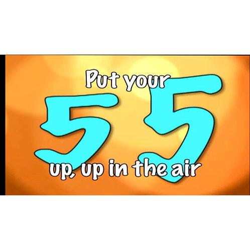 Hi 5 Lyric Video - Downloadable
