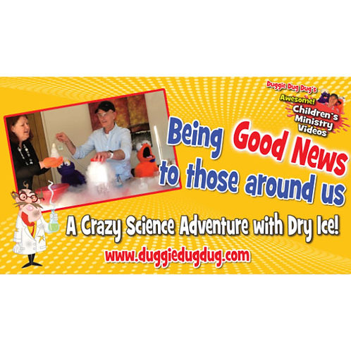 Being Good News to those around us - Crazy Science Series Teaching video