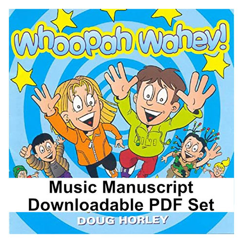 Whoopah Wahey Album PDF Music Manuscripts