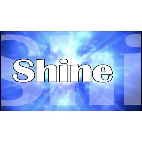 Shine Lyric Video - Downloadable