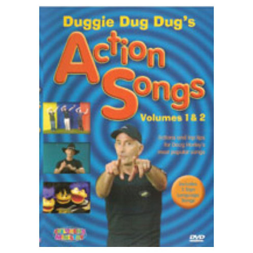 Action Songs 1&2 DVD