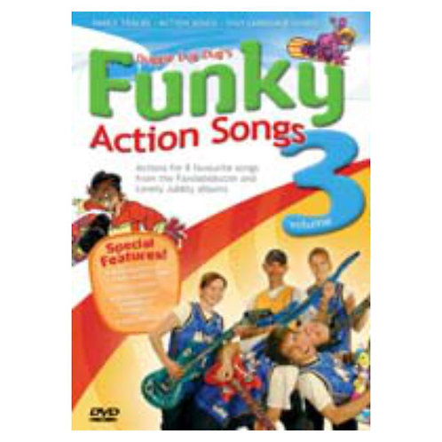 Action Songs 3 DVD - Fandabidozzie