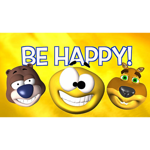 Be Happy (I'm gonna jump up and down) Lyric Video - Downloadable