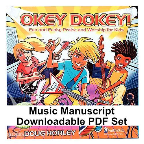 Okey Dokey Album PDF Music Manuscripts