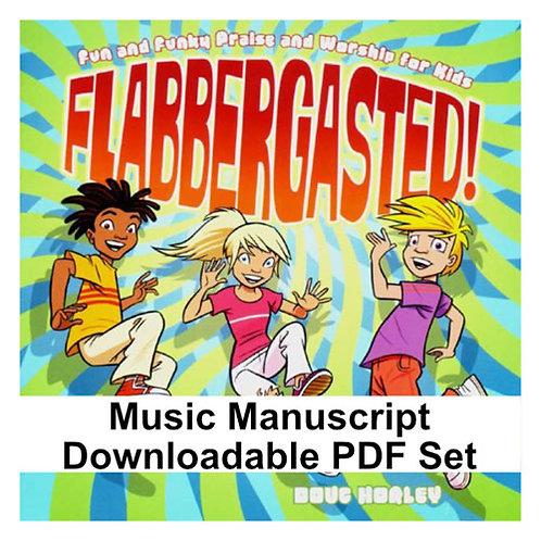 Flabbergasted Album PDF Music Manuscripts