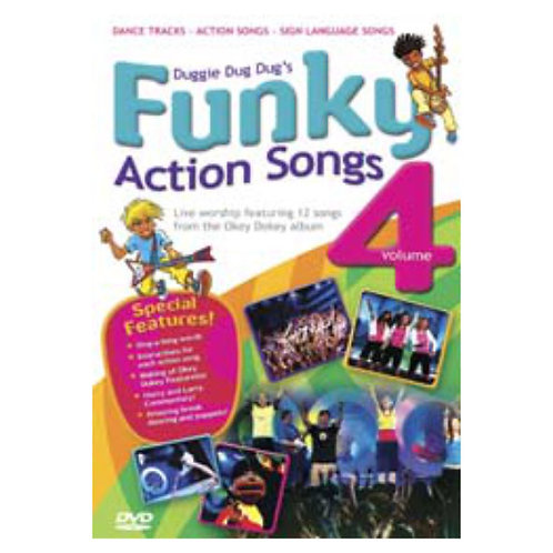 Action Songs 4 DVD - Okey Dokey