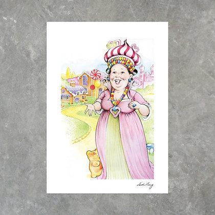 Jelly Bean Queen - Print