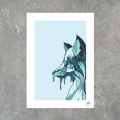 Icy Fox - Print
