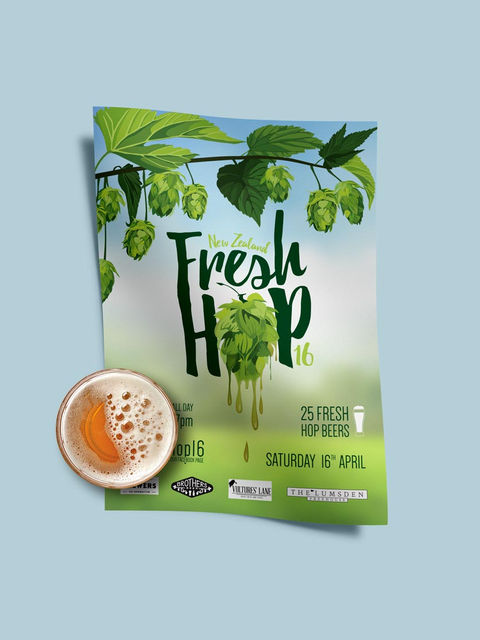 Fresh Look For Fresh Hops