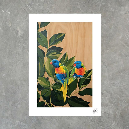 Morning Perch - Print
