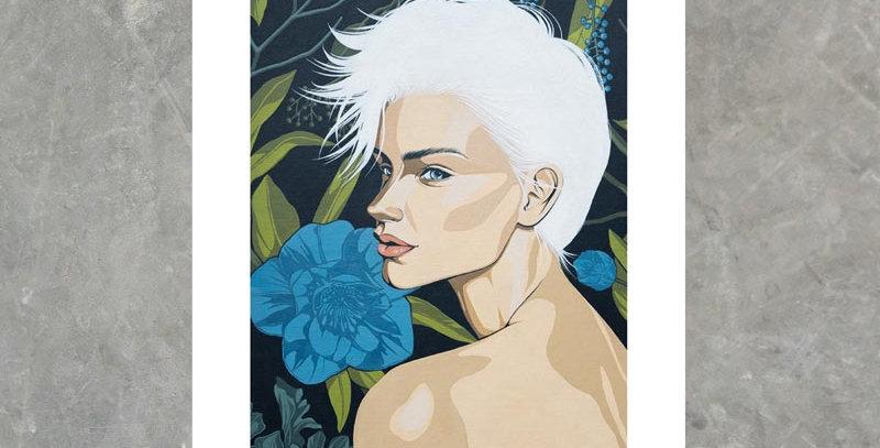 Iced Elegance - Print