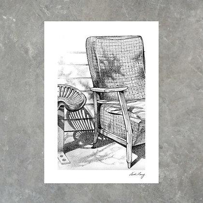 Take A Seat - Print