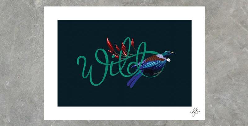 Wild Tui - Print