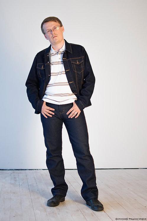 Мужская джинсовая куртка Montana 12062 RW