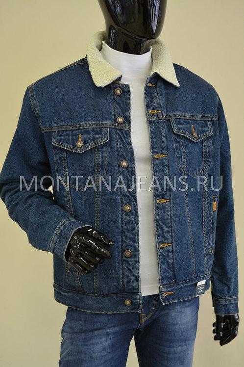 Джинсовая куртка Montana (с мехом)
