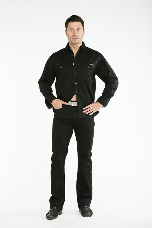 Чёрные джинсы Montana 10163