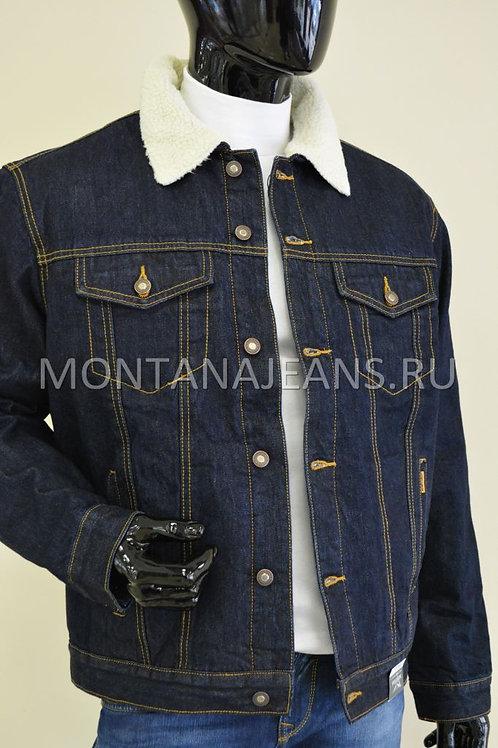 Куртка Montana (джинсовая с мехом)