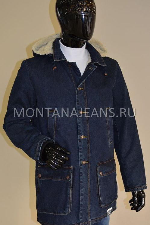 Удленённая джинсовая куртка Montana