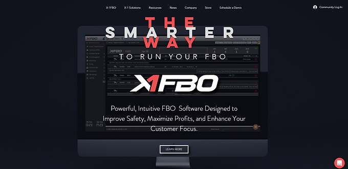 The NEW X-1FBO website is here!