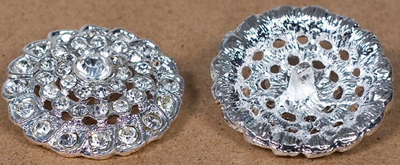 Broche Alloy Circular with stone on each spot[17186]