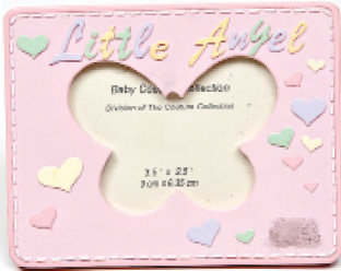 "Pink ""Little Angel"" Picture Frame"