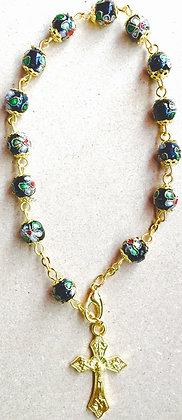 Car RosaryBracelete Gold Metal clossionne work