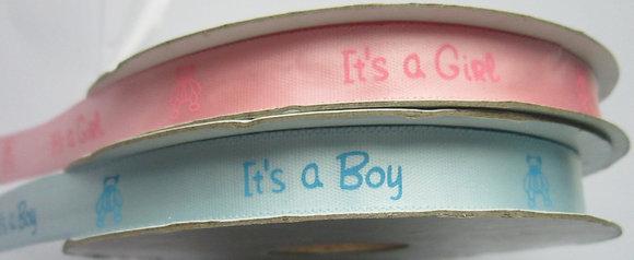 Ribbon  It's a Boy/Girl
