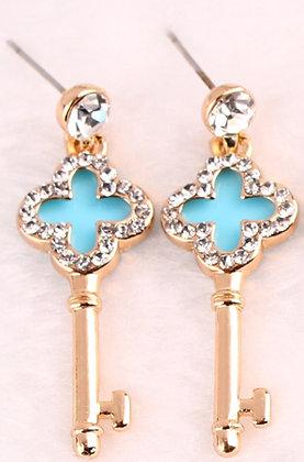 Earing cross & key