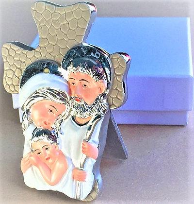 Jesus & Mary Table Cross w/ Bracelet