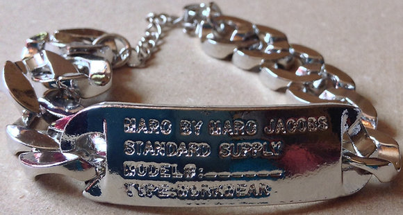 Customized Bracelet Silver Metal