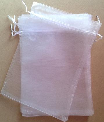 White Organza bag [55058]