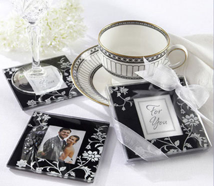 Black Glass Coaster