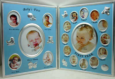 Blue Baby Multi Picture Frame