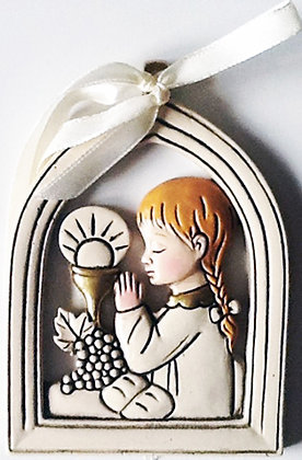 wall Hanging for Baby Girl Communion [54622]