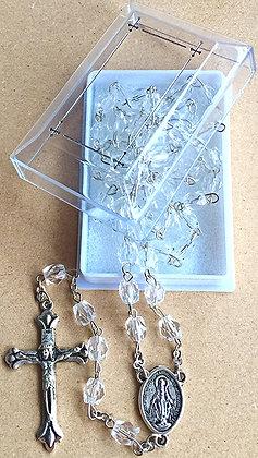 Acrylic Clear Rosary