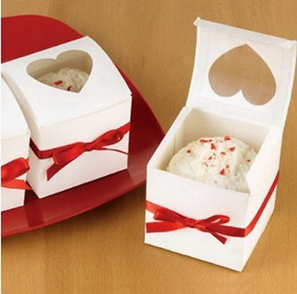 Wedding Cupcake White Box Pack