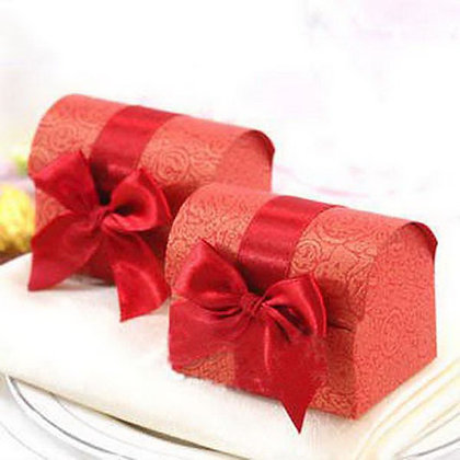 Red Chest Wedding Favor Pack