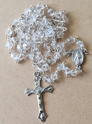 Rosary Clear Beads