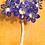 Thumbnail: Acrylic crystal Flowers Natural Large