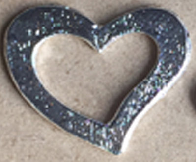 Heart Metal deco small [54511]