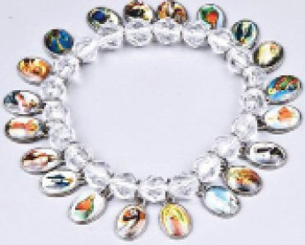 Bracelet All Saints Clear beads