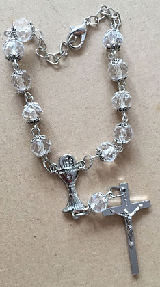 Car Rosary with Communion Cup
