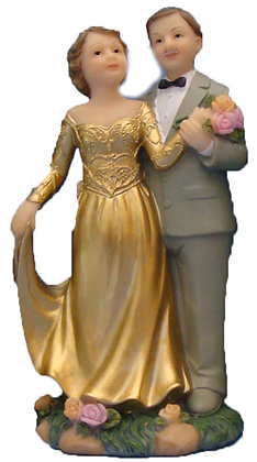 50th Aniversary cake toppers