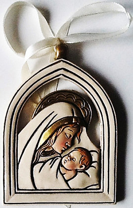 Wall Hanging Mary and Baby Boy [54620]