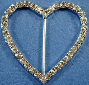 Buckle Heart Large [17191]