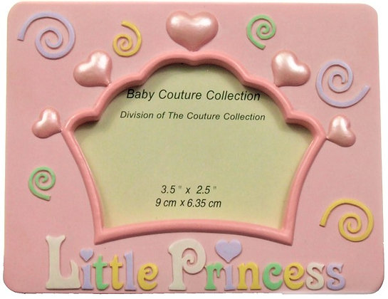 "Pink ""Little Princess"" Picture Frame"